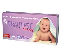 Frautest Тест для определения овуляции (ЛГ), 5 тестов на овуляцию, 2 теста на беременность, 7 шт.
