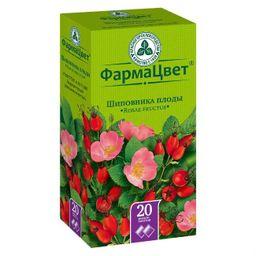 Шиповника плоды, сырье растительное-порошок, 2 г, 20 шт.