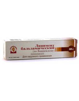 Линимент бальзамический (по Вишневскому), линимент, 30 г, 1 шт.