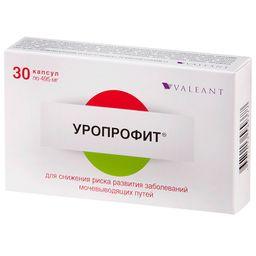 Уропрофит, 495 мг, капсулы, 30 шт.