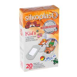 Silkoplast Kids пластырь с содержанием серебра, пластырь для детей, 20 шт.