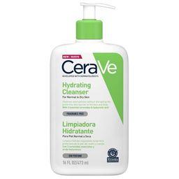 CeraVe Увлажняющий очищающий крем-гель для лица и тела, 473 мл, 1 шт.