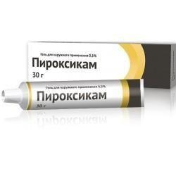 Пироксикам, 0.5%, гель для наружного применения, 30 г, 1 шт.