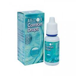 Avizor Comfort Drops Капли для линз, капли глазные, 15 мл, 1 шт.