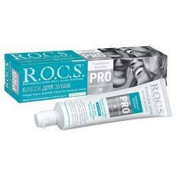 ROCS PRO Гель-блеск для зубов, без фтора, гель для полости рта, 74 г, 1 шт.