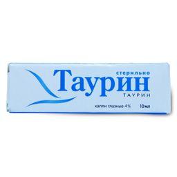 Таурин, 4%, капли глазные, 10 мл, 1 шт.