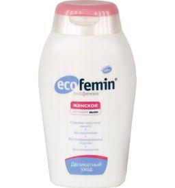 Экофемин Мыло интимное, мыло жидкое, женское, 200 мл, 1 шт.