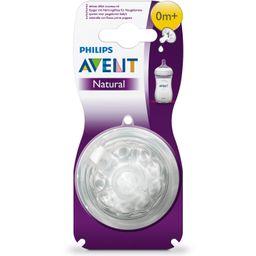 Соски Philips Avent Natural для новорожденных, 2 шт.