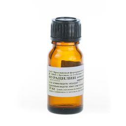 Фурацилин, раствор для местного и наружного применения спиртовой, 10 мл, 1 шт.