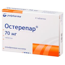 Остерепар, 70 мг, таблетки, 4 шт.