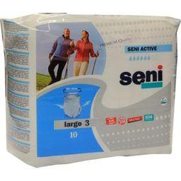 Подгузники-трусы для взрослых Seni Active, Large 3 (100 -135 см), 10 шт.