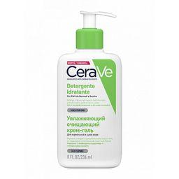 CeraVe Увлажняющий очищающий крем-гель для лица и тела, 236 мл, 1 шт.