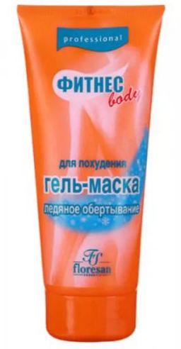 Floresan Фитнес Body гель-маска для похудения Ледяное обертывание, формула 59, 200 мл, 1 шт.