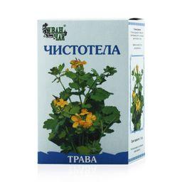 Чистотела трава, лекарственное растительное сырье, 50 г, 1 шт.