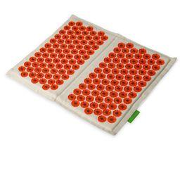 Иппликатор Кузнецова Тибетский для ступней на мягкой подложке, красный (для чувствительной кожи, магнитный), 1 шт.