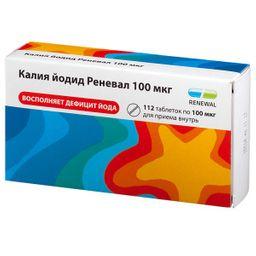 Калия йодид Реневал, 100 мкг, таблетки, 112 шт.