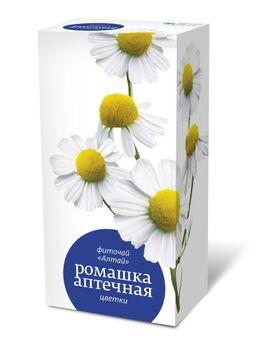 Фиточай Алтай Ромашки аптечной цветки, фиточай, 1.5 г, 20 шт.