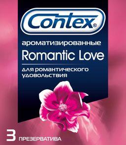Презервативы Contex Romantic Love, презерватив, 3 шт.