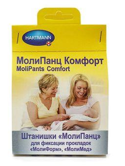 MoliPants Comfort штанишки для фиксации прокладок, Large (обхват бедер 80-120 см), для фиксации прокладок Molimed и Moliform, 1 шт.