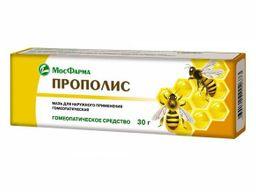 Прополис, мазь для наружного применения гомеопатическая, 30 г, 1 шт.