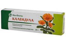 Календула, мазь для наружного применения гомеопатическая, 30 г, 1 шт.