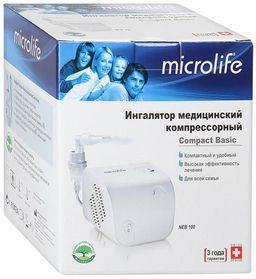 Ингалятор компрессорный Microlife NEB 100, мод. NEB 100, 1 шт.