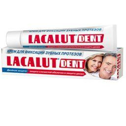 Lacalut Dent крем для зубных протезов, крем для фиксации зубных протезов, 40 мл, 1 шт.
