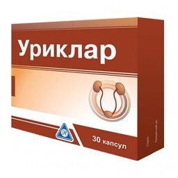 Уриклар, 430 мг, капсулы, 30 шт.