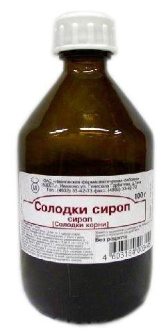 Солодки сироп, сироп, 100 г, 1 шт.