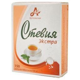 Стевия Экстра, 100 мг, таблетки шипучие, 150 шт.