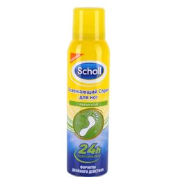 Scholl Fresh Step Спрей-дезодорант для ног, спрей, 150 мл, 1 шт.