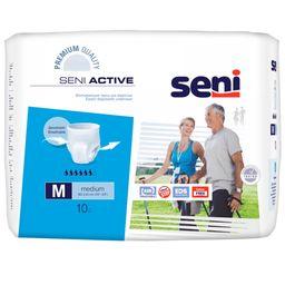 Подгузники-трусы для взрослых Seni Active, Medium M (2), 80-110 см, 10 шт.