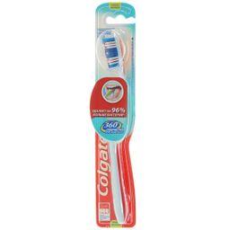 Colgate 360 Суперчистота Зубная щетка средняя, щетка зубная, 1 шт.