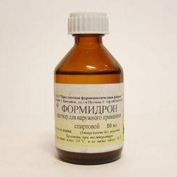 Формидрон, раствор для наружного применения спиртовой, 50 мл, 1 шт.