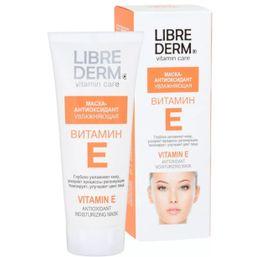 Librederm Витамин Е Маска-антиоксидант, маска для лица, 75 мл, 1 шт.