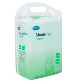 Пеленки впитывающие Hartmann Molinea, 90 смx60 см, Normal (2 капли), 30 шт.