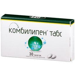 Комбилипен табс, таблетки, покрытые пленочной оболочкой, 30 шт.
