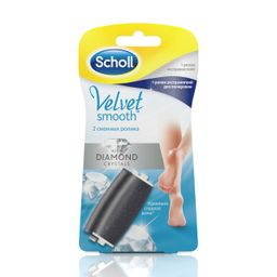 Scholl Сменные роликовые насадки, экстражесткая и экстрамягкая, 2 шт.