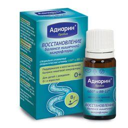 Адиарин Пробио, капли для приема внутрь, масляный (маслянистый), 8 г, 1 шт.