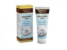 Бишофит гель-бальзам для тела Природная помощь, жидкость для ванн, 75 мл, 1 шт.