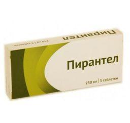 Пирантел, 250 мг, таблетки, 3 шт.